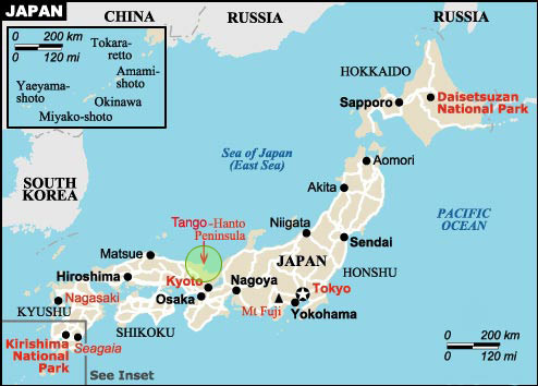 Where Is Japan Located Japan - Where is japan